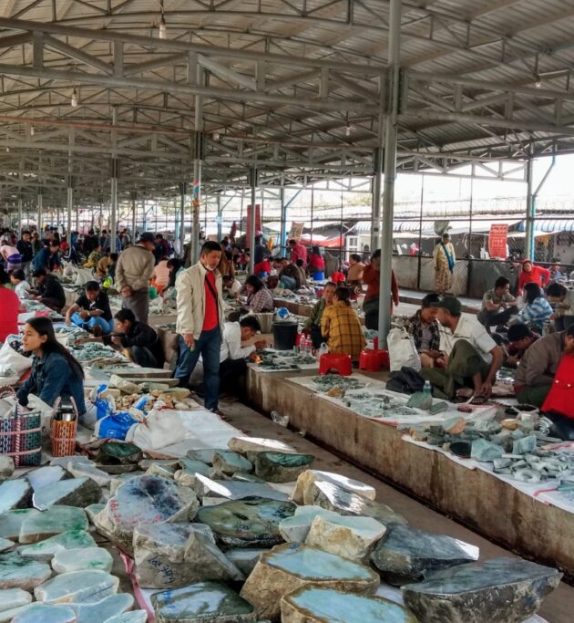 85% of the world's jade passes through this market