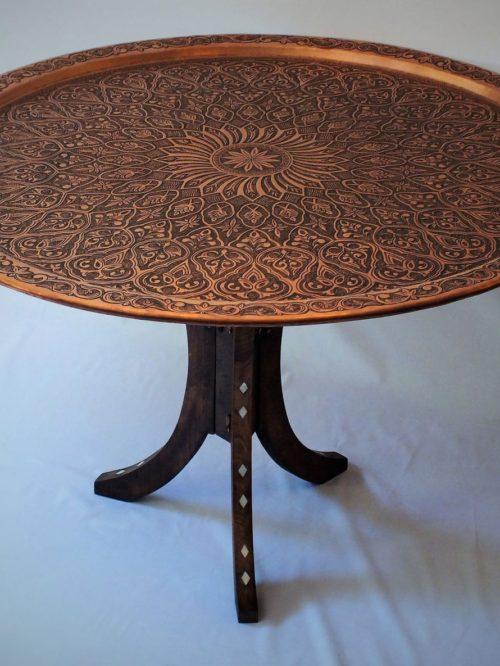 Lebanese copper table