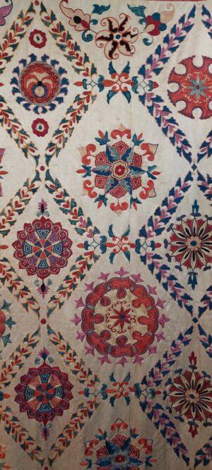 Uzbek Suzani textile