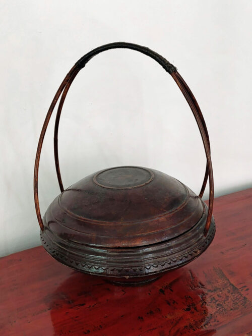 Chinese Rice Basket with lid