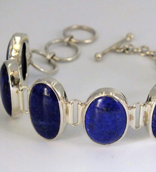 Lapis Cabochon oval bracelet, £380
