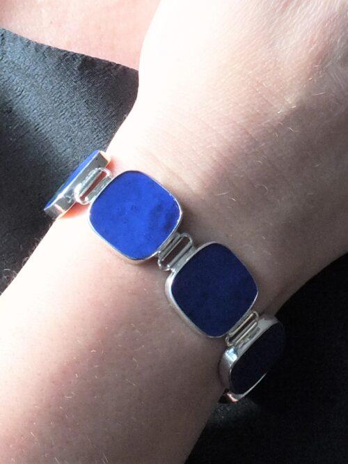 Lapis tiles bracelet, £480