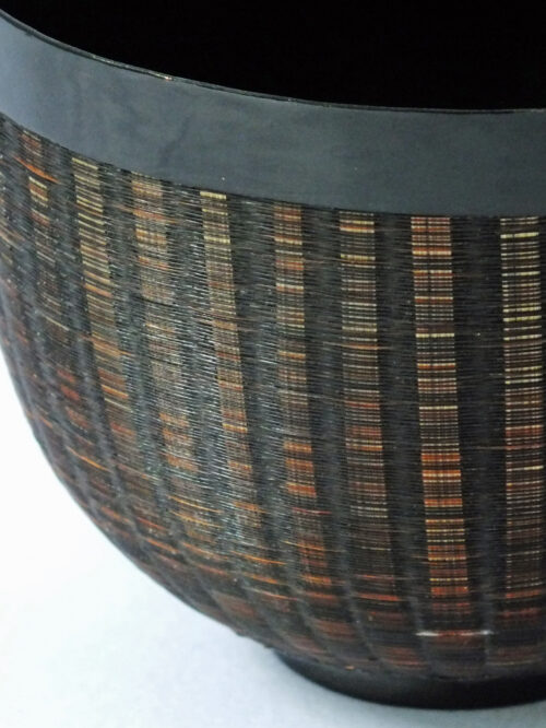 Burmese Lacquer & Horsehair Cup