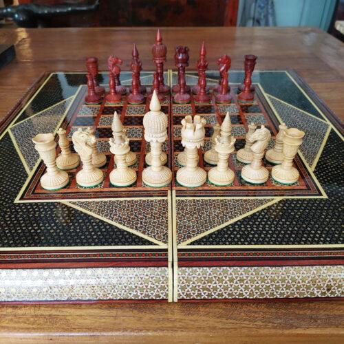 Persian Khatam Iranian Chess & Backgammon