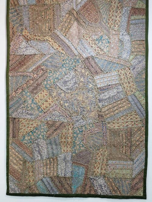 Zardozi Patchwork Wall-Hanging
